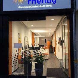 Das Bild zeigt den rhenag-Shop in Siegburg