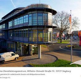 Das Bild zeigt den Firmenstandort der Rhein-Sieg Netz GmbH