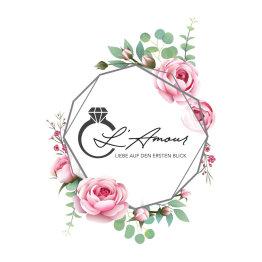 Das Bild zeigt das Logo von L'Amour Brautmoden