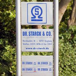 Hier ist ein Werbebild von Dr. Starck Gebäude- und Umwelttechnik GmbH zu sehen