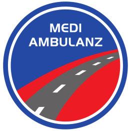 Das Bild zeigt das Logo der MEDI Ambulanz Bonn/Rhein-Sieg