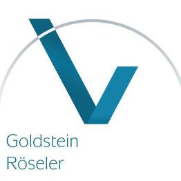 Das Bild zeigt das Logo des Versicherungsmaklerbüros Goldstein & Röseler GbR