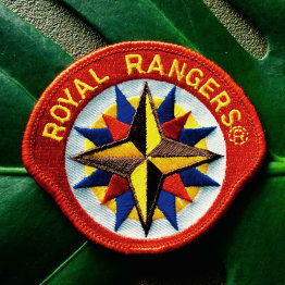 Das Bild zeigt das Abzeichen der Royal Rangers - Stammposten 503
