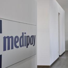 Das Bild zeigt die Geschäftsräume der medipay GmbH in Siegburg