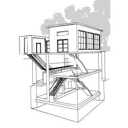 Skizze vom Pumpwerk Siegburg