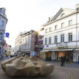 Das Bild zeigt den unteren Marktplatz in Siegburg